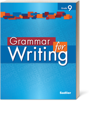 Cover Image for Grammar for Writing Grades 6-12