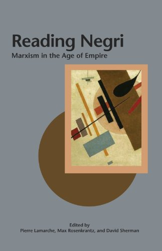 Cover Image for Reading Negri: Marxism in the Age of Empire