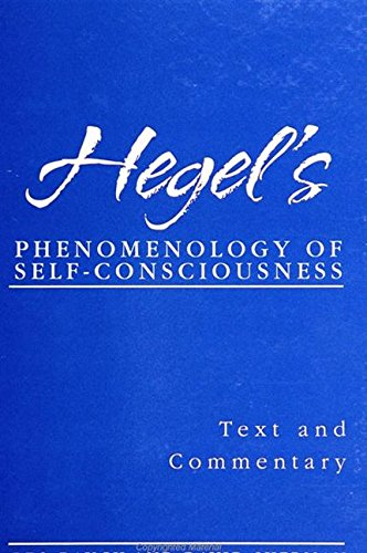 Cover Image for Hegel�s Phenomenology of Self-Consciousness