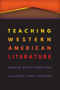 Cover Image for Teaching Western American Literature