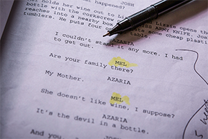 Course Photo for Special Topics: Screenwriting