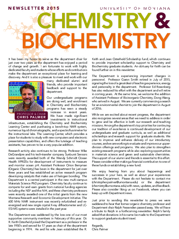 Image for newsletter