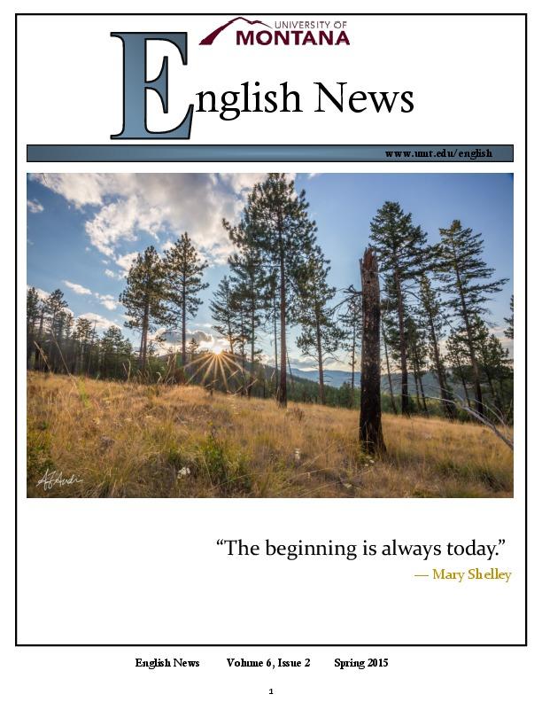 Image for newsletter
